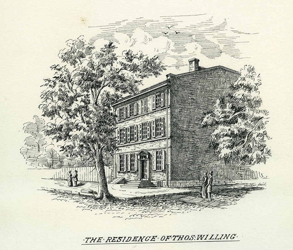 The Residence of Thomas Willing.