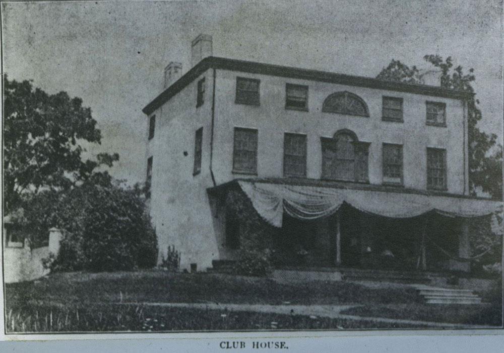 Club House, Philadelphia Gun Club, Formerly Bickley Mansion.