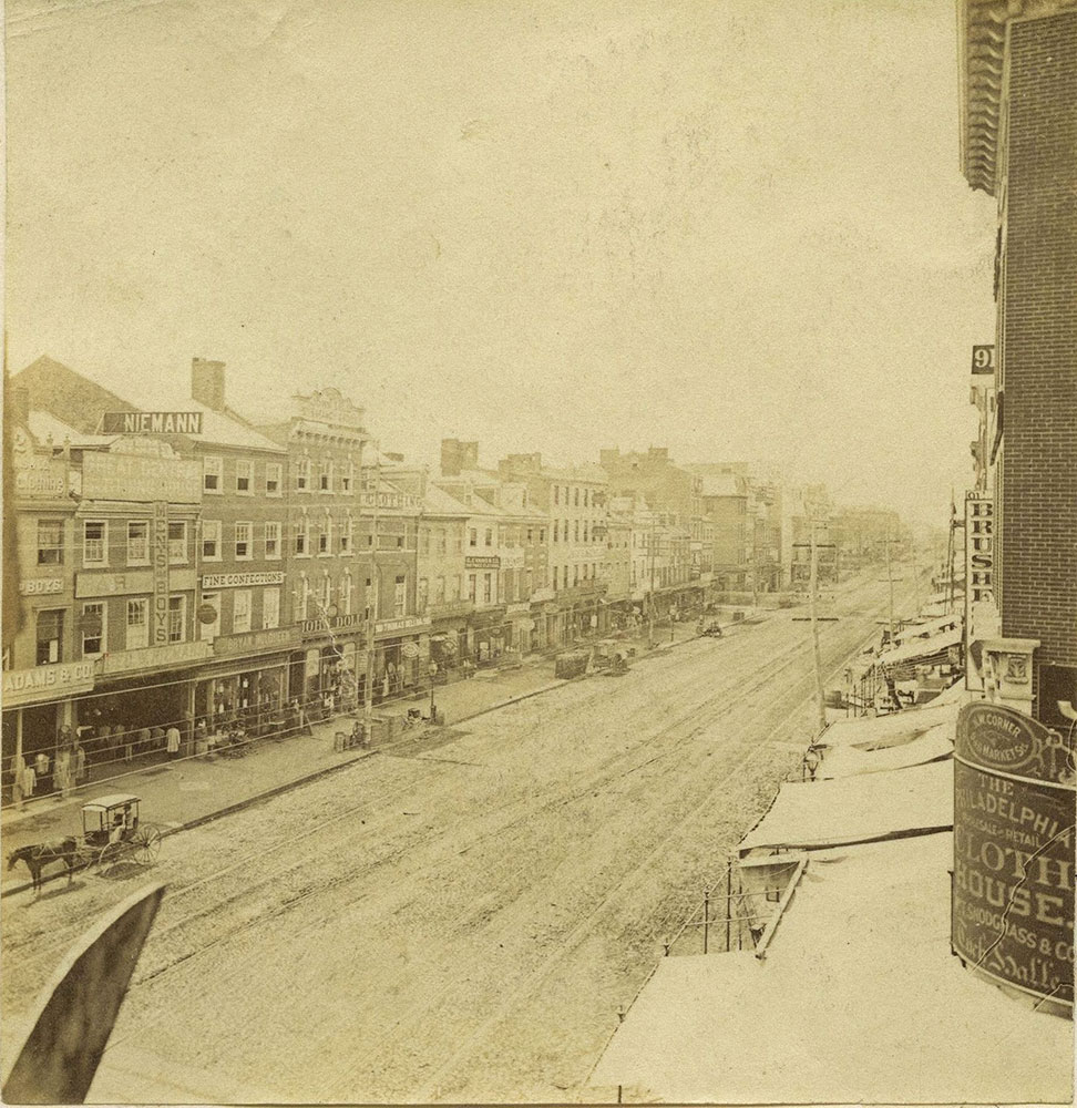 Market Street, West from 9th Street.