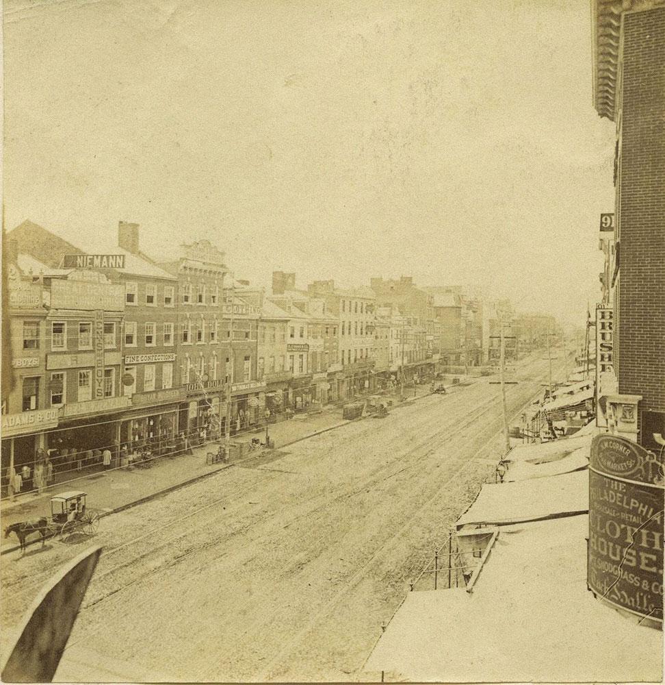 Market Street, West from 9th Street.