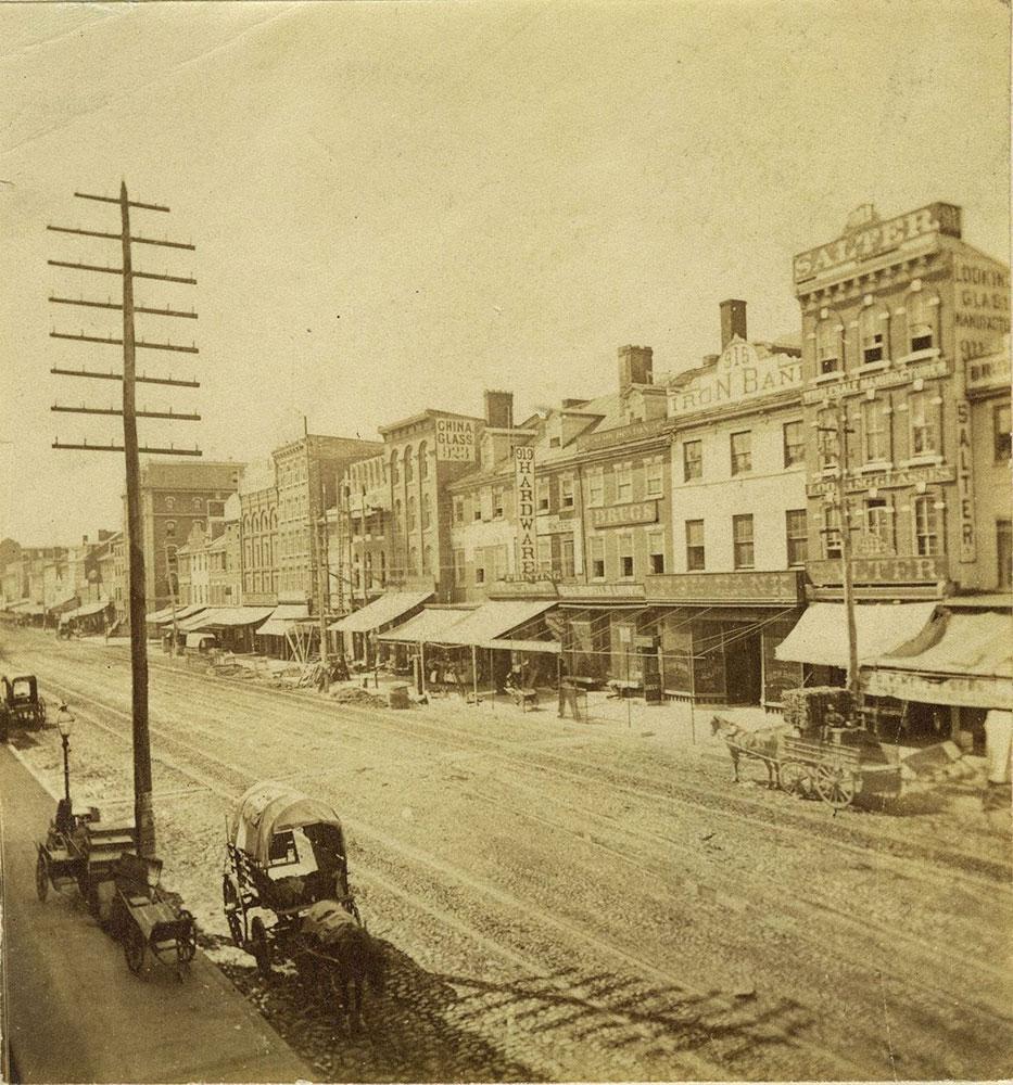 Market Street West from 9th Street.