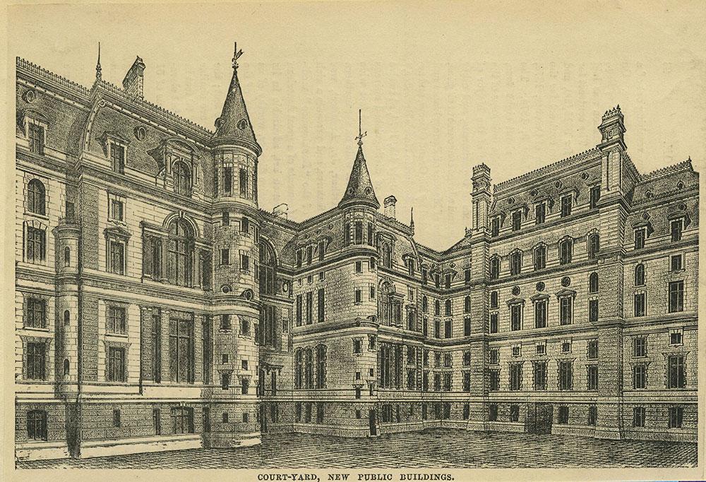 Court-Yard, New Public Buildings.