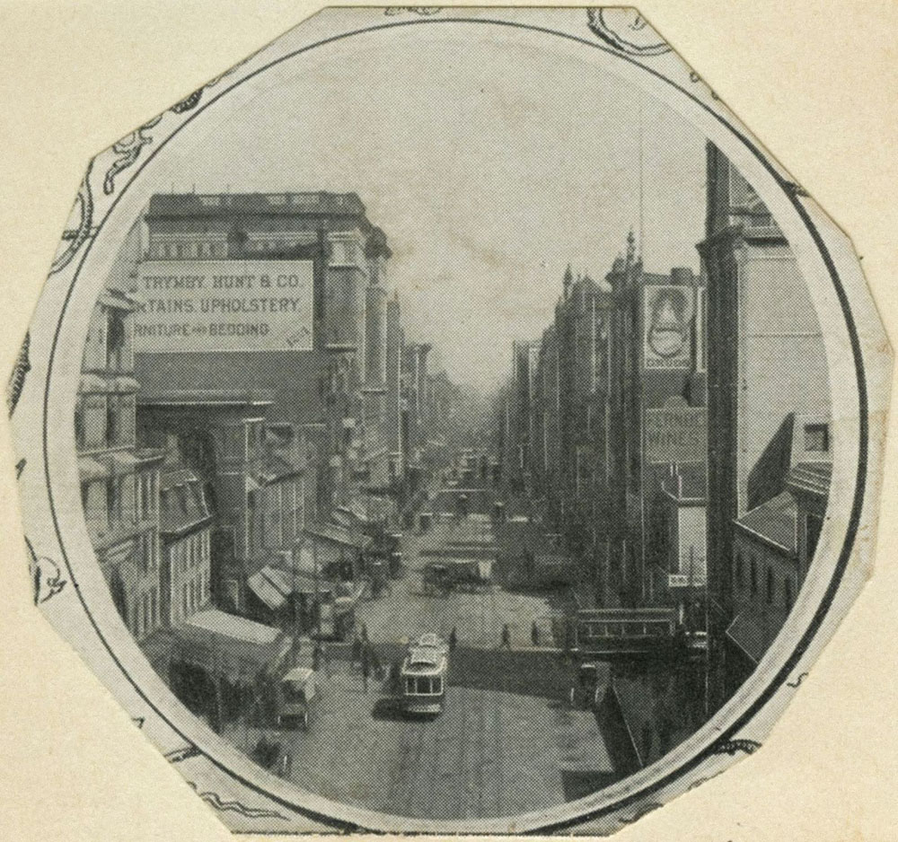 Market Street east from 13th.