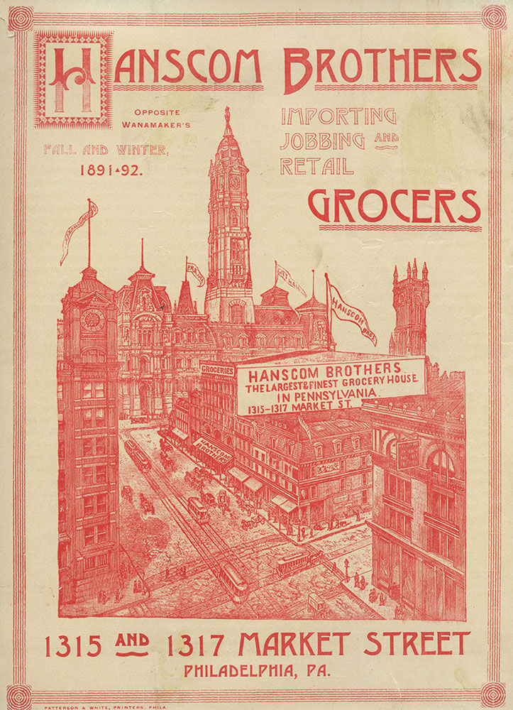 Hanscom Brothers Grocers