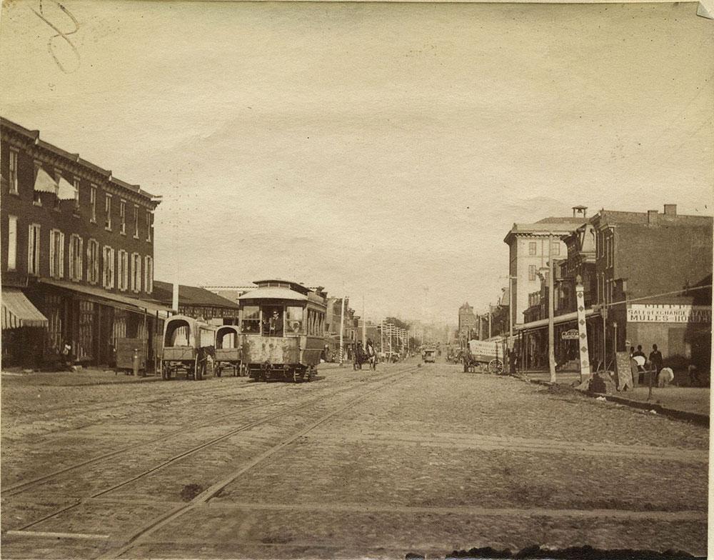 Market Street. East from 38th Street.