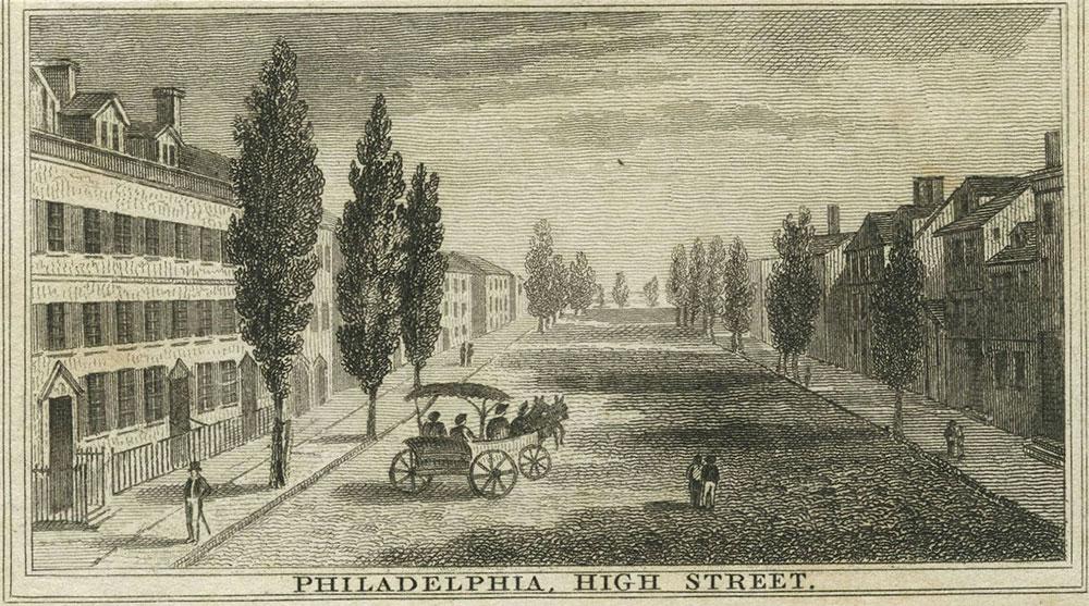 Philadelphia, High Street.
