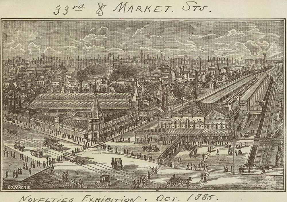 Novelties Exhibition. Oct. 1885.