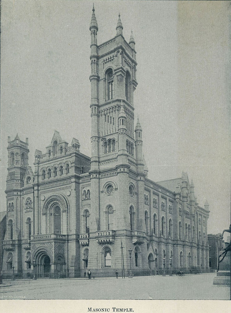 Masonic Temple - Digital Collections - Free Library