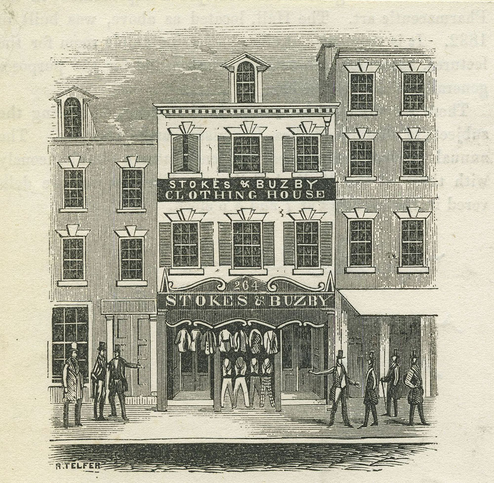 Stokes & Buzby Clothing House