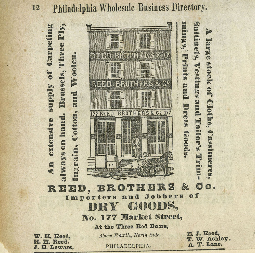 Reed, Brothers & Co. Dry Goods.