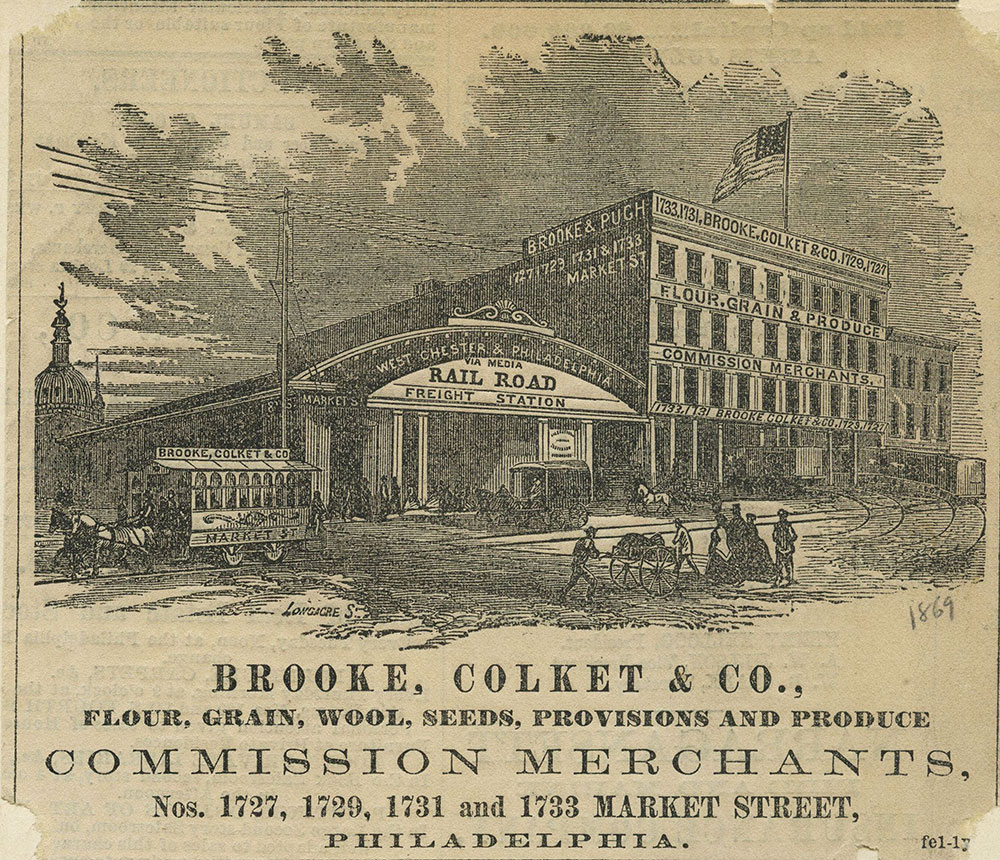 Brooke, Colket & Co. Commission Merchants