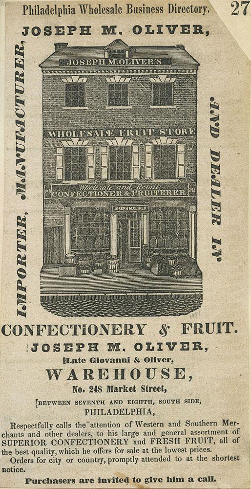 Joseph M. Oliver