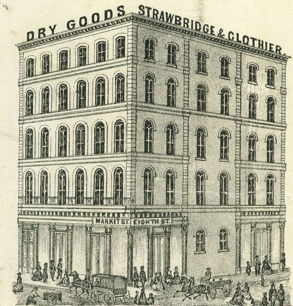 Strawbridge & Clothier Dry Goods.