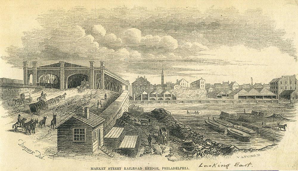 Market Street Railroad Bridge, Philadelphia.