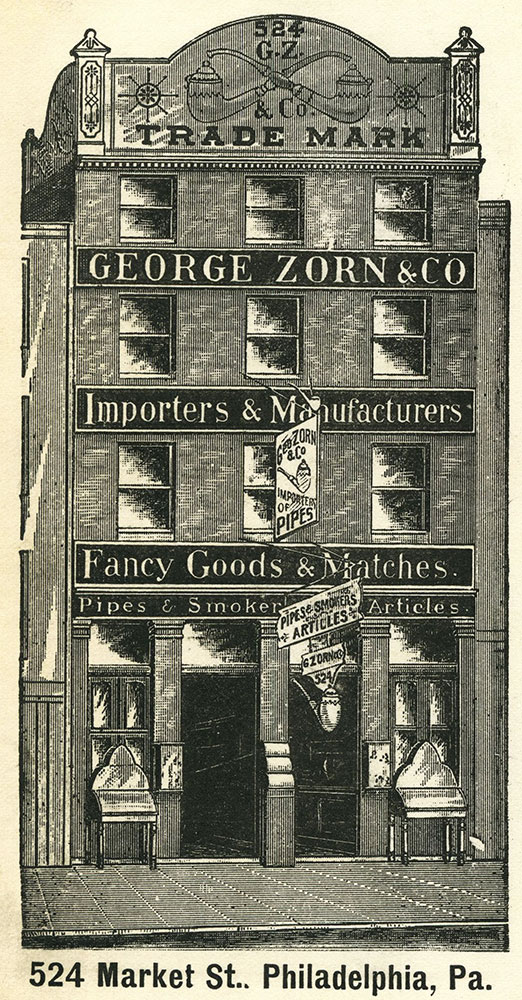 George Zorn & Co. Trade Card.