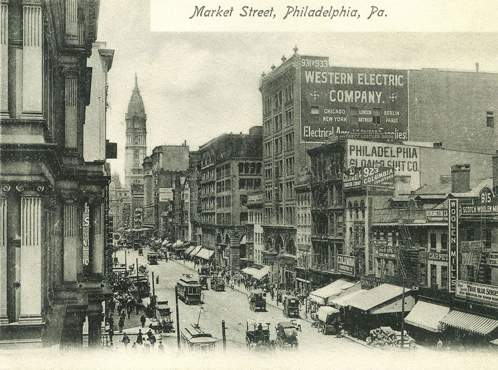 Market Street, Philadelphia, Pa
