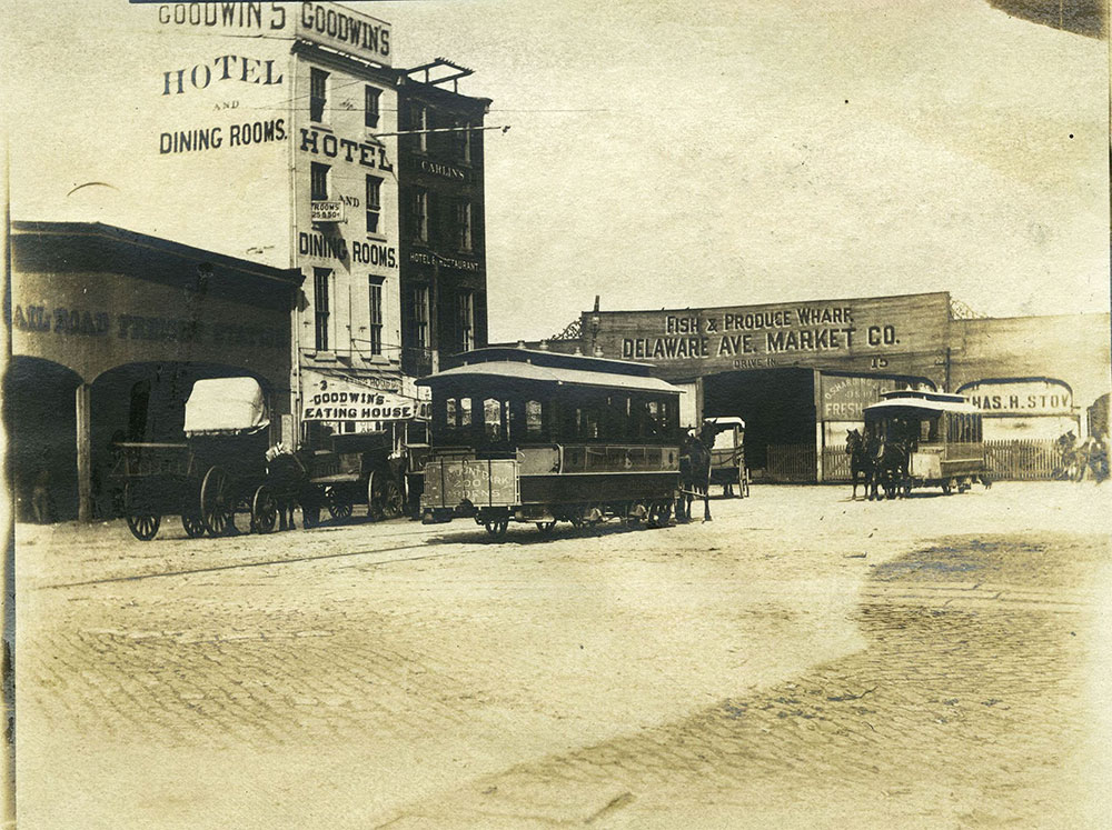 Market Street and Delaware Avenue