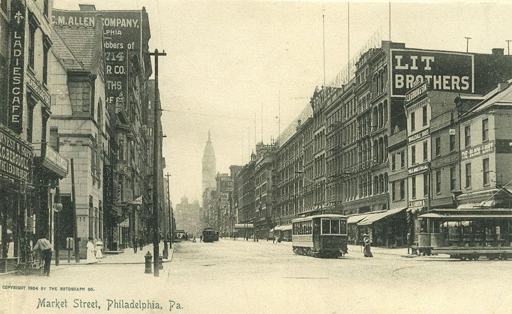 Market Street, Philadelphia, Pa.