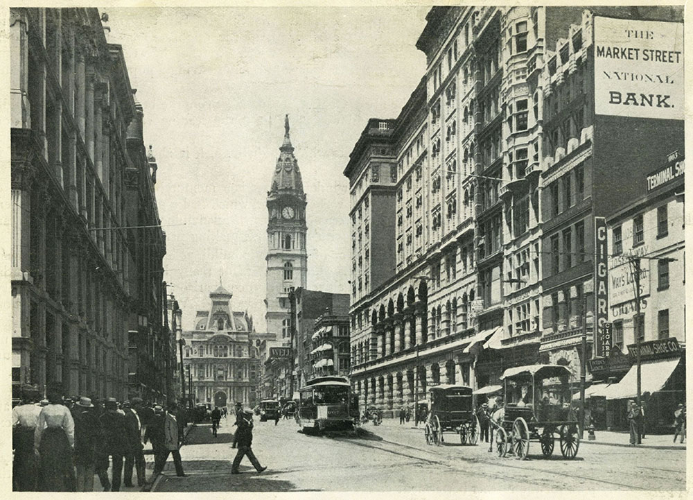 Market Street, West from Eleventh.
