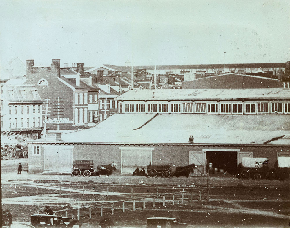 The Old Freight Depot, S. E. Corner of Juniper & Market Streets