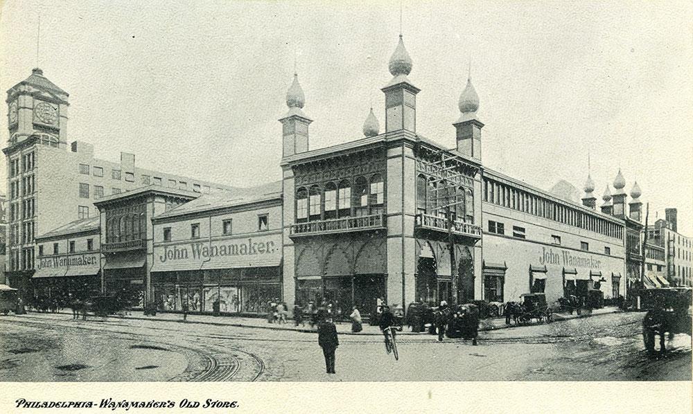 Philadelphia - Wanamaker's Old Store.