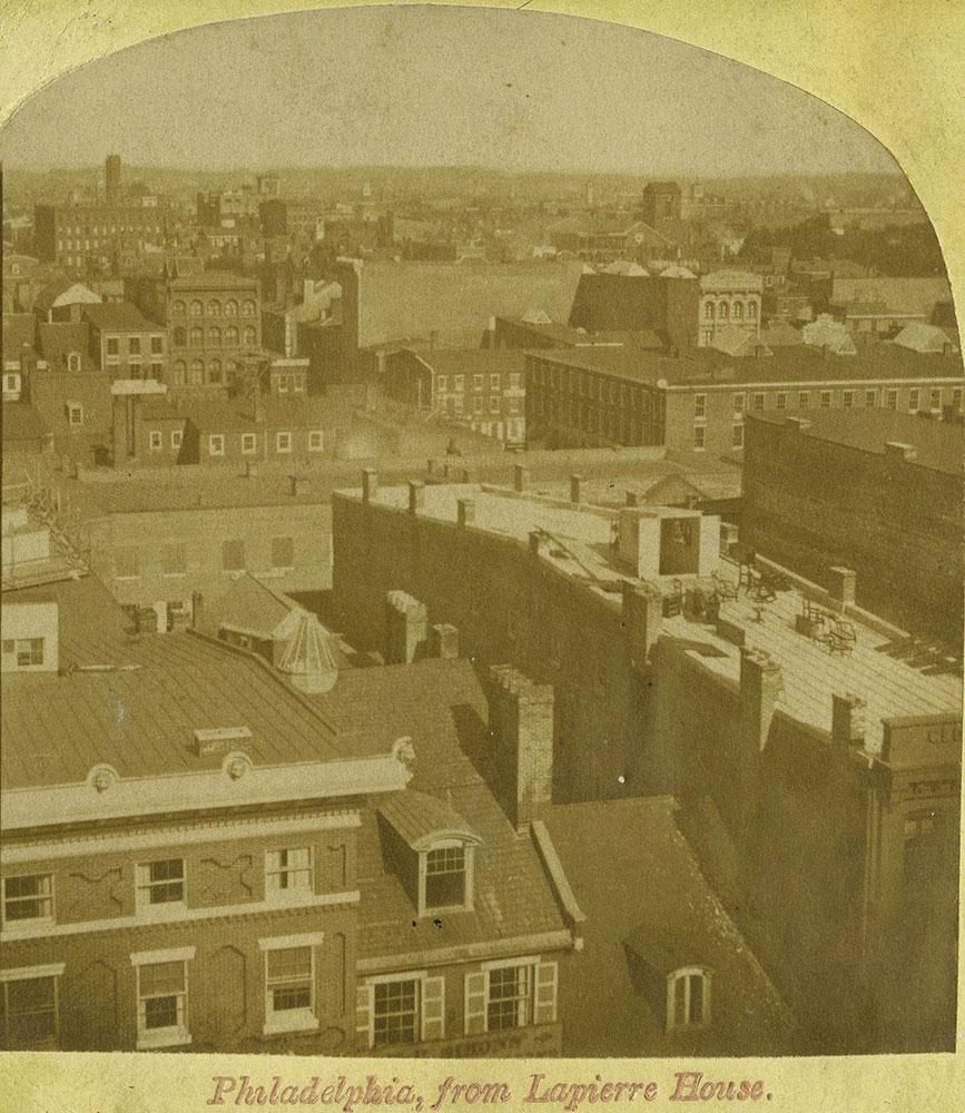 Philadelphia, from Lapierre House.