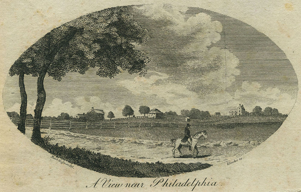 A View near Philadelphia.