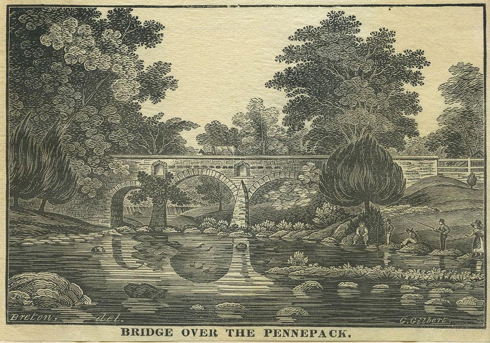 Bridge over the Pennepack.