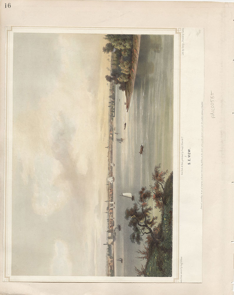 Castner Scrapbook v.7, Walks, Views, Maps, page 16