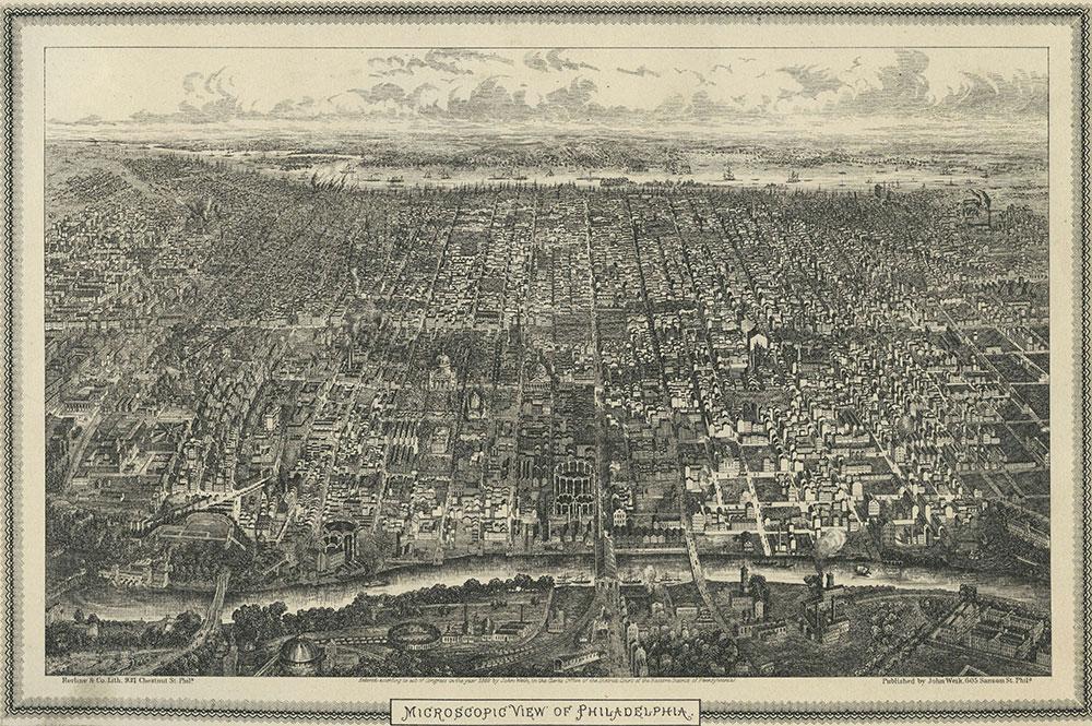 Microscopic View of Philadelphia.