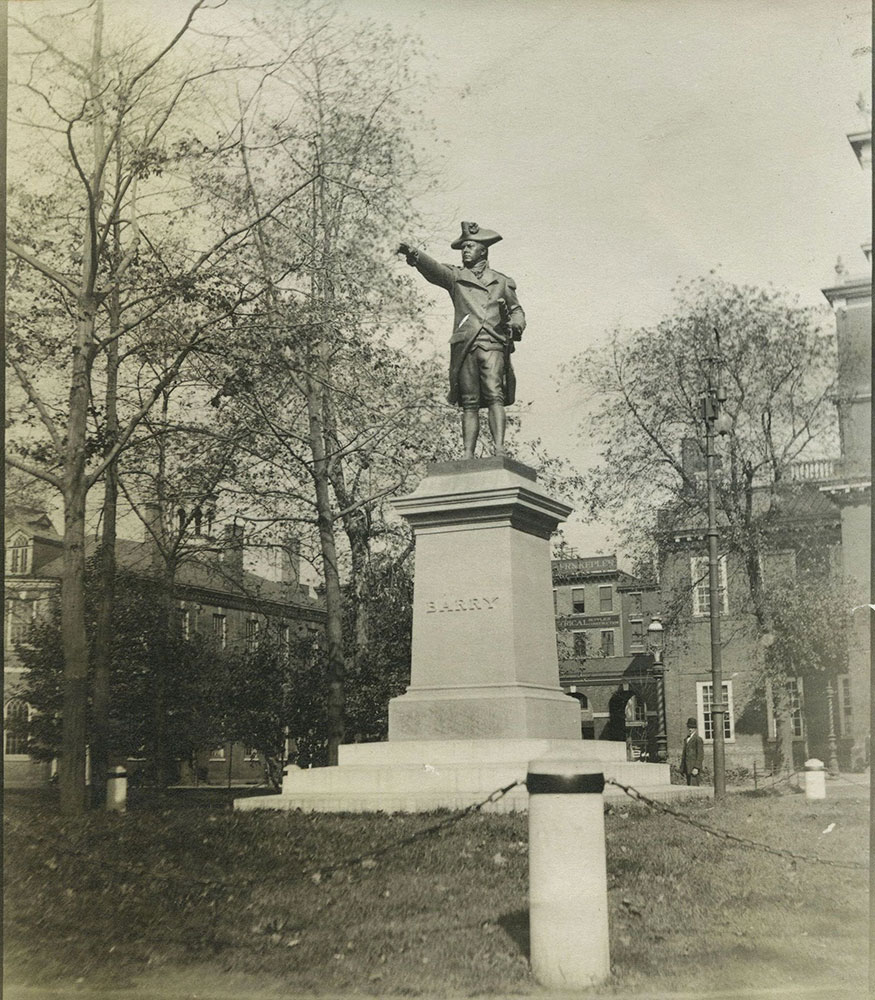 Barry Statue, Independence Square.