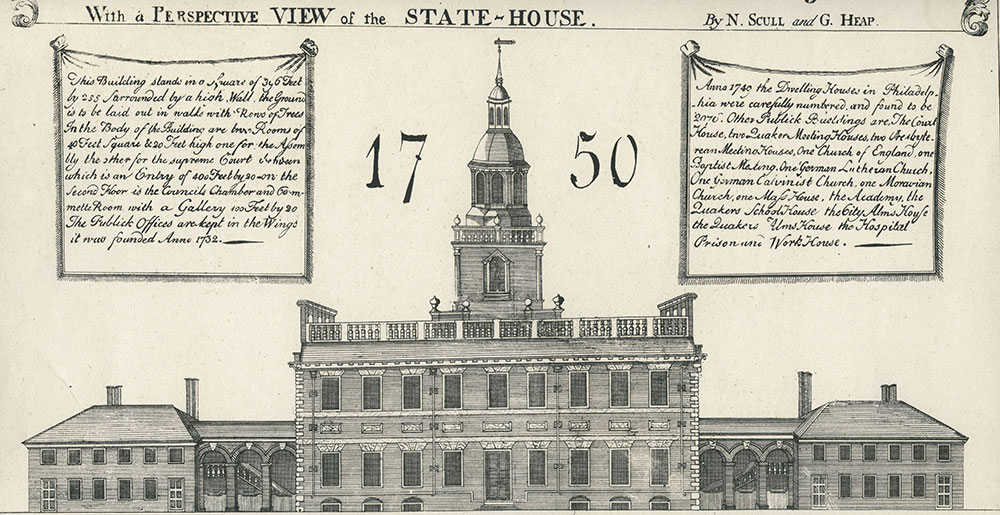 Perspective View of the State House.