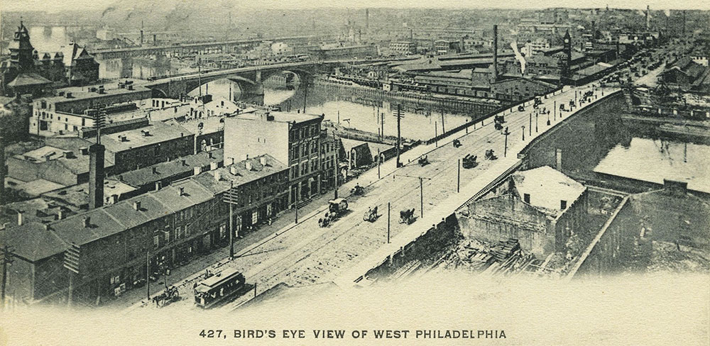 Bird's Eye View of West Philadelphia