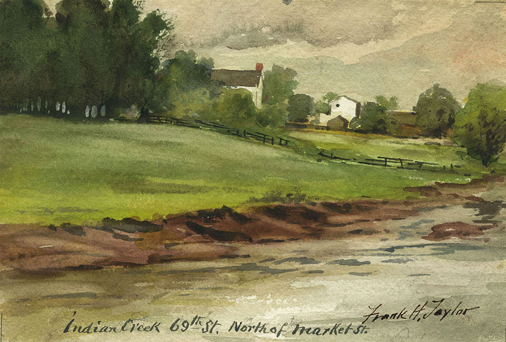 Indian Creek, 69th St. North of Market St