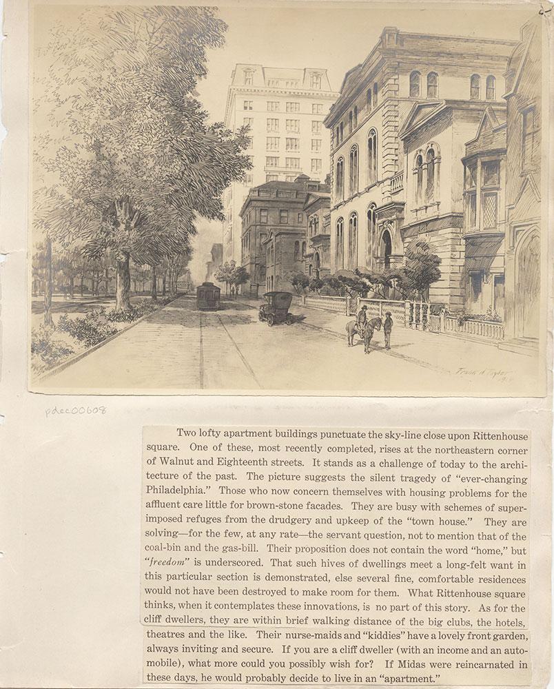Castner Scrapbook v.7, Walks, Views, Maps, page 55