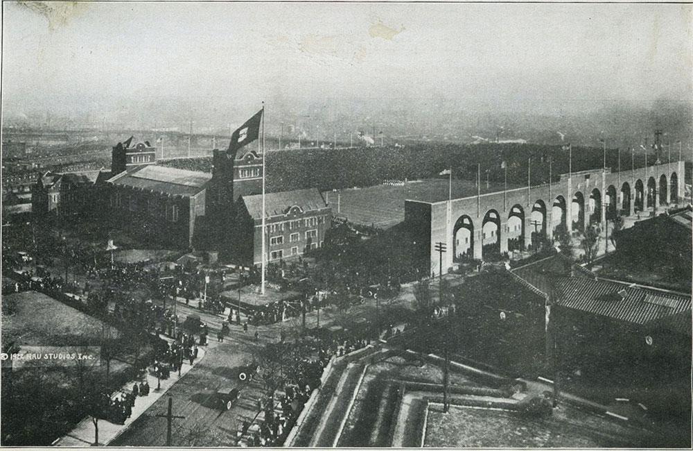 The Stadium of the University of Pennsylvania.