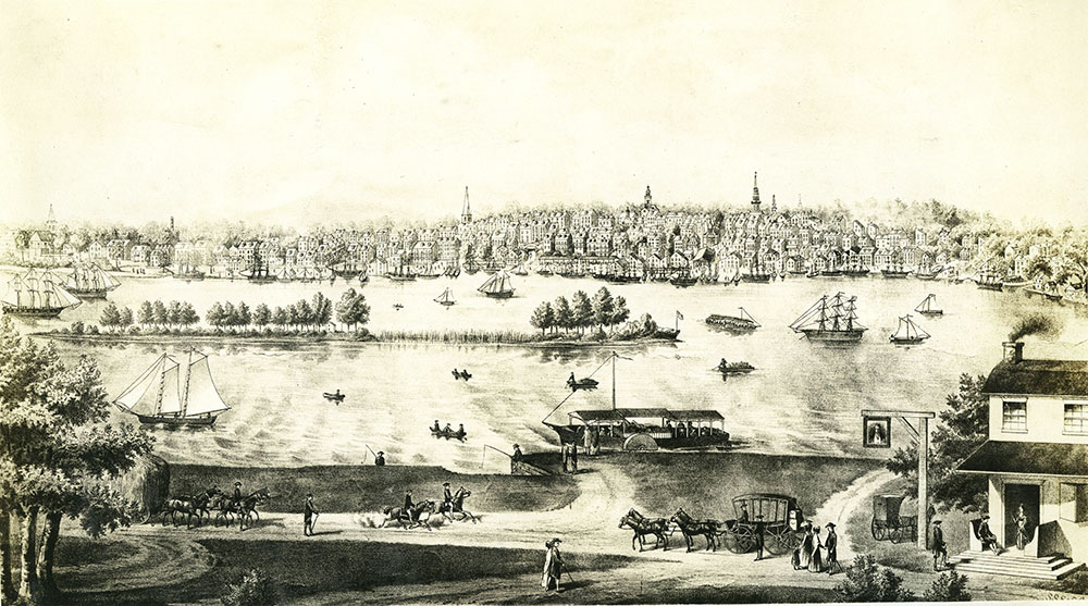 Philadelphia About 1815