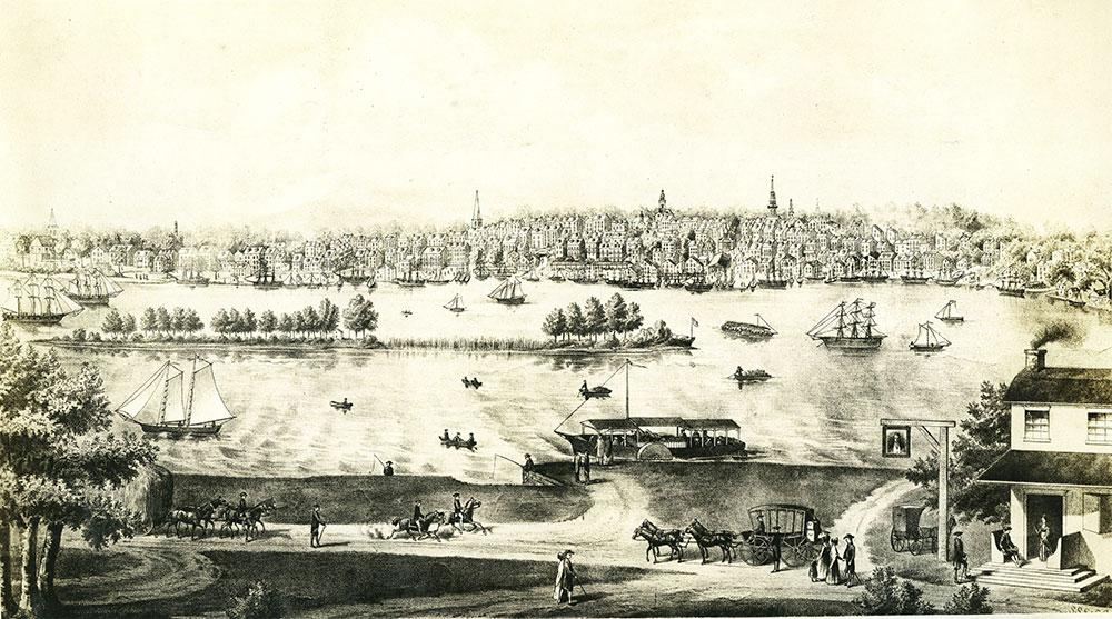 Philadelphia About 1815
