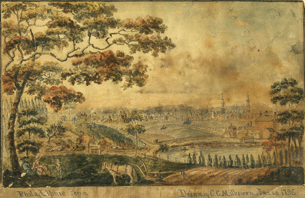 View of Part of Philadelphia, Penn. June 1796