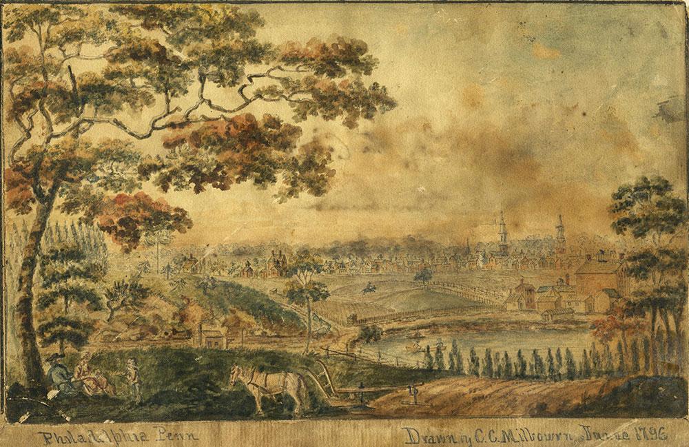 View of Part of Philadelphia, Penn. June 1796