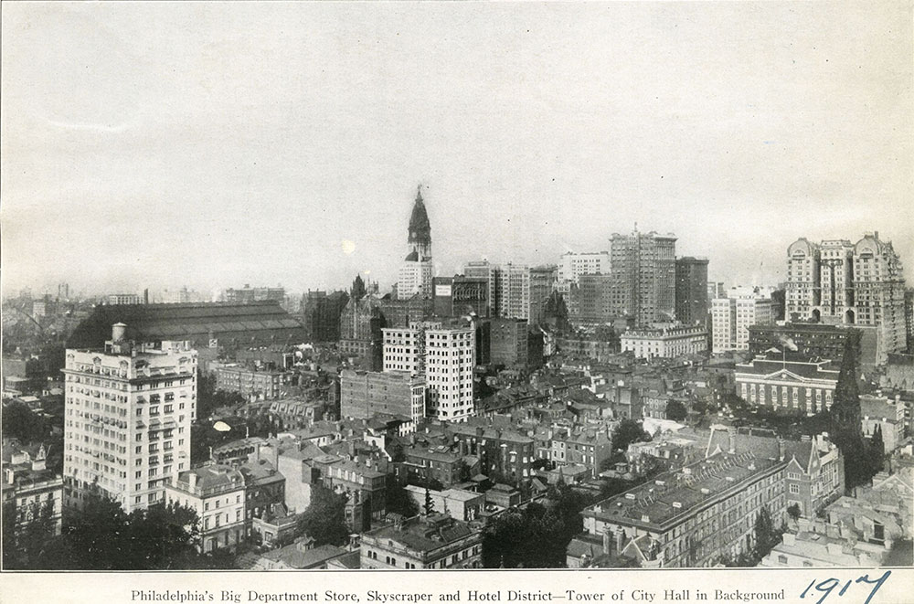 Philadelphia's Big Department Store, Skyscraper and Hotel District