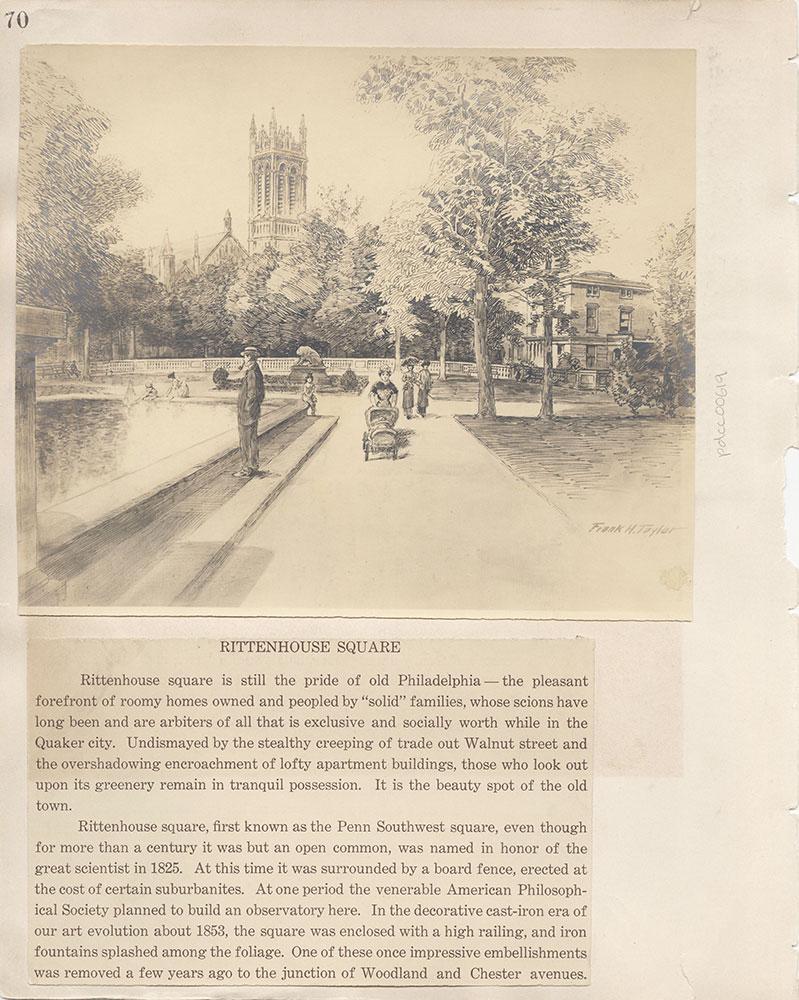 Castner Scrapbook v.7, Walks, Views, Maps, page 70