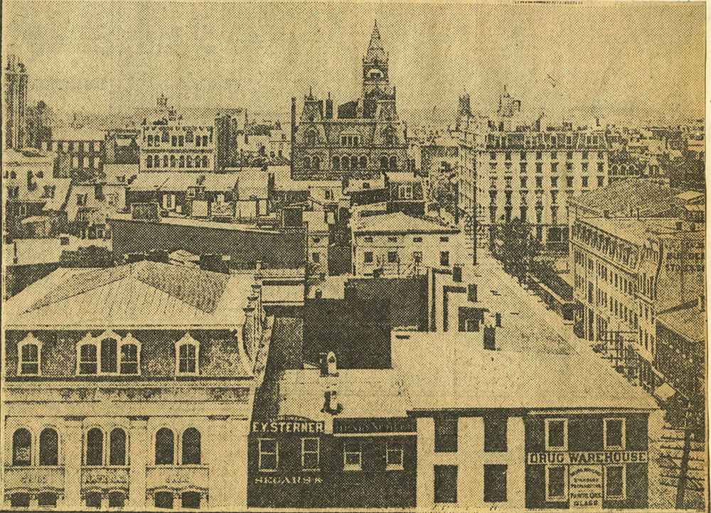 A Glimpse of the Central City Skyline