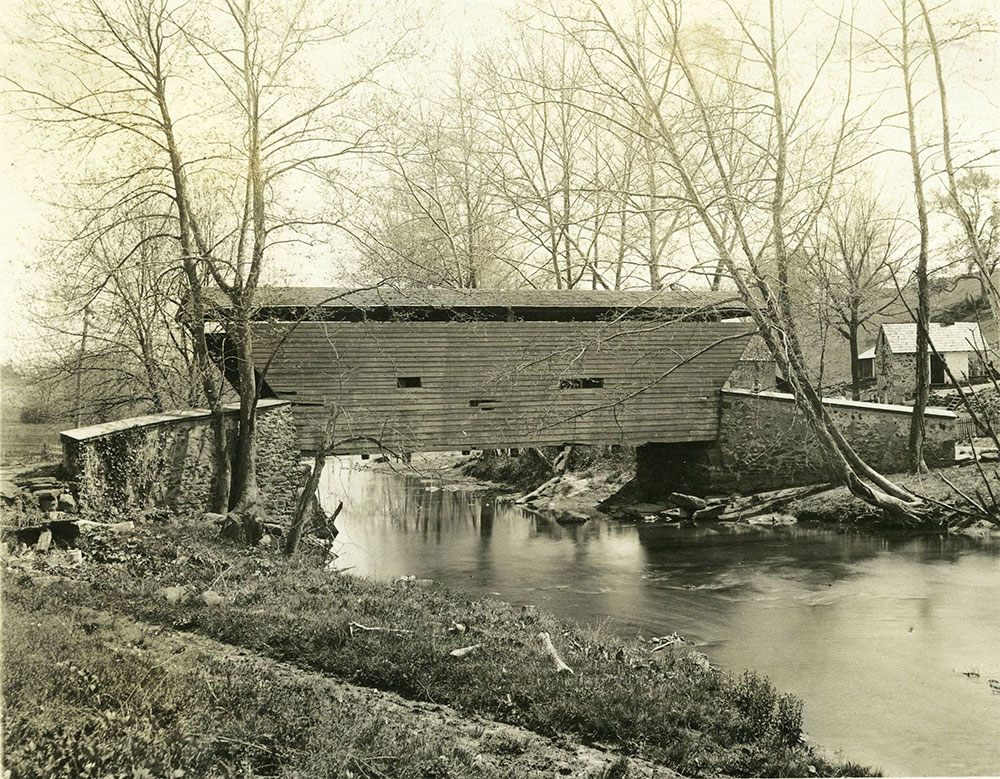 Ridley Creek Bridge, Sycamore Mills, Delaware County