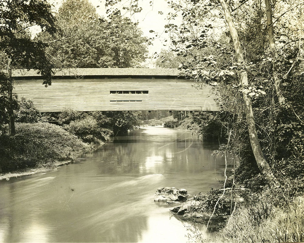 Chester Creek Bridge at Morgans, Delaware County