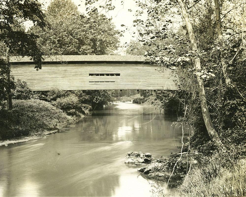 Chester Creek Bridge at Morgans, Delaware County