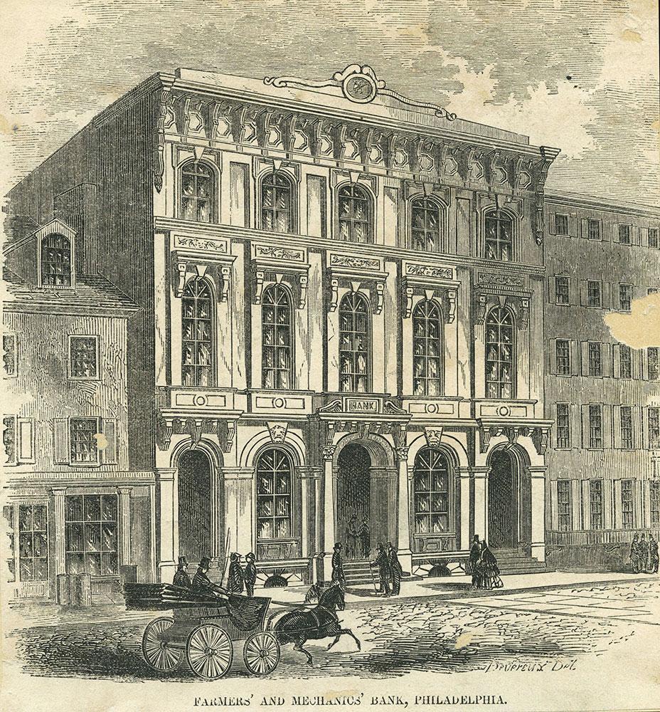 Farmers' and Mechanics' Bank, Philadelphia.