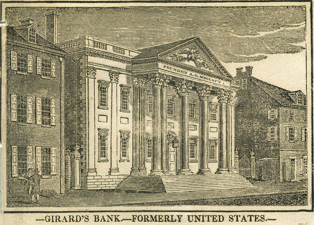Girard's Bank - Formerly United States.