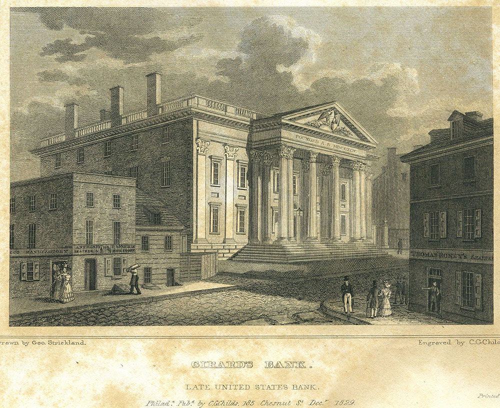 Girard's Bank, Late United States Bank.