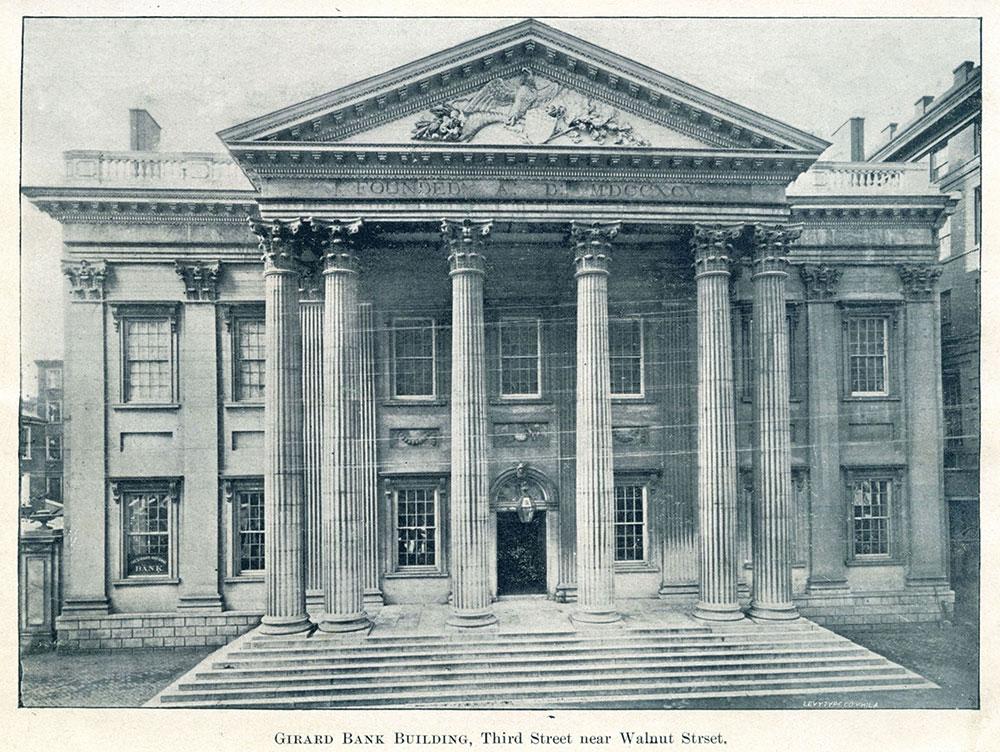 Girard Bank Building, Third Street near Walnut Street.